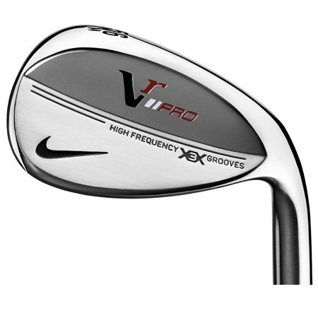 Nike Victory Red Pro Forged Satin Wedge Loft: 50 - Bounce: 10 Right, Steel (Wedge)