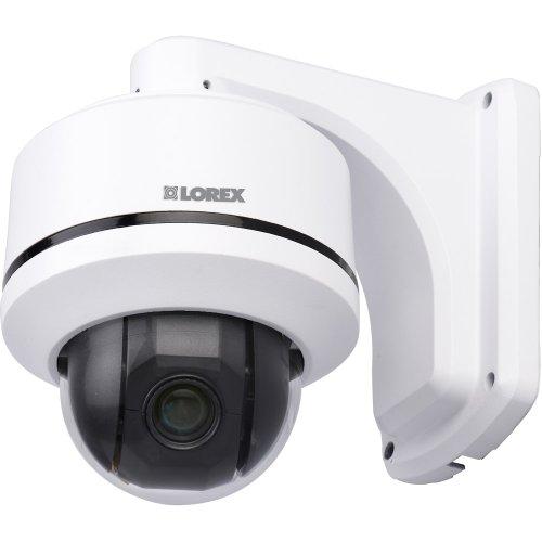 Lorex Lzc7091B Vantage Super Resolution 10X Pan-Tilt-Zoom Speed-Dome Camera (White)