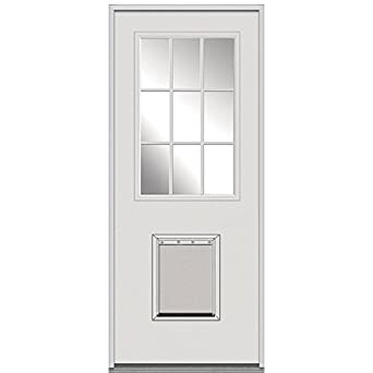 National Door Company Z000881L Steel Replacement Prehung