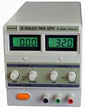 Tekpower TP-3003D Digital Variable Linear-type DC Power Supply, 0-30 Volts @ 0-3 Amps
