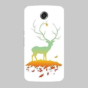 Back cover for Nexus 6 Leafy Deer