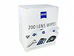 Zeiss Lens Pre-Moistened Cleaning Wipes- Pack of 200ct