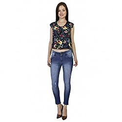 Clench Women's Ankle Length Denim Jeans - Size 34