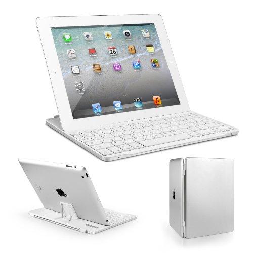 Anker iPad キーボードカバー iPad2 / iPad3 / iPad4 iPad第2世代~iPad第4世代に対応 ウルトスリムデザイン 日本語説明書付き