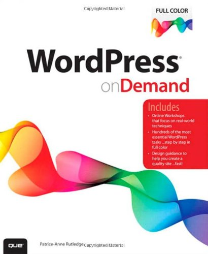 Buchcover: WordPress on Demand
