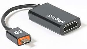 Slimport zu HDMI Adapterkabel für LG Google Nexus 4 - Verbindet Fernseher, Monitore mit einem Smartphone mit Slimport Anschluss (SP1002)