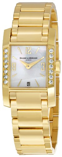 Baume & Mercier Women's 8698 DIAMANT Mother-Of-Pearl Dial Watch