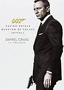 James Bond 007 - Daniel Craig : La Trilogie : Casino Royale + Quantum of Solace + Skyfall