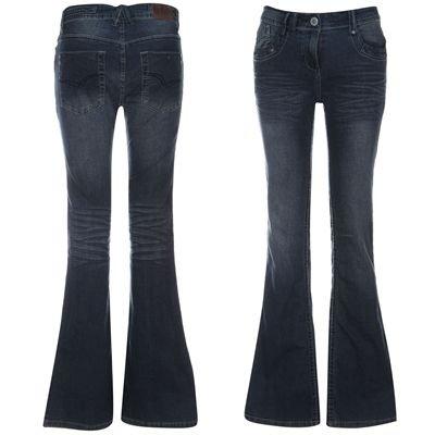 Lee Cooper Boot Cut Jeans Ladies Indigo 12 R