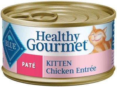 Blue Buffalo Kitten Pate - Chicken Entree - 24 x 3 oz