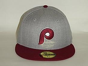 New Era 59Fifty MLB Philadelphia Phillies 2Tone GreyMajenta Fitted -A2220