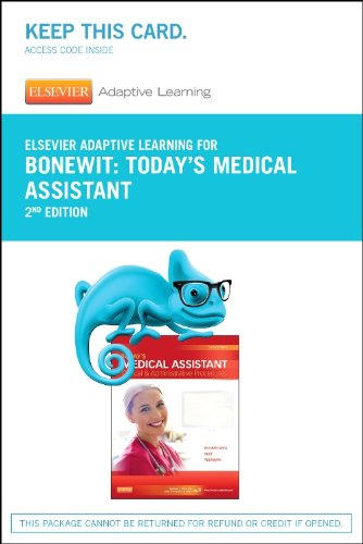 Elsevier Adaptive Learning for Today's Medical Assistant (Access Card), 2e