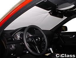 MERCEDES C-CLASS Sed 2008 2009 2010 2011 2012 2013 2014 w/W204 Chassis HEATSHIELD Windshield Custom-fit Sunshade #1159