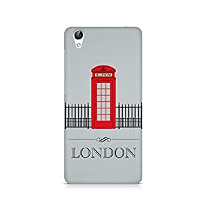Ebby London Phone Booth Premium Printed Case For Vivo Y51L