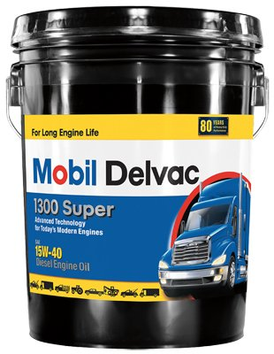 Mobil MO01305P 5 Gallon 15W40 Super Diesel Engine Oil (Mobil 15w40 Diesel Oil compare prices)