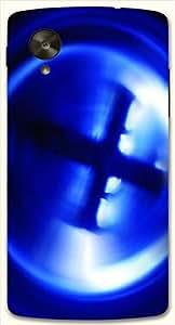 Beautiful multicolor printed protective REBEL mobile back cover for LG Nexus 5 / Google Nexus 5 D.No.N-L-18172-NX5
