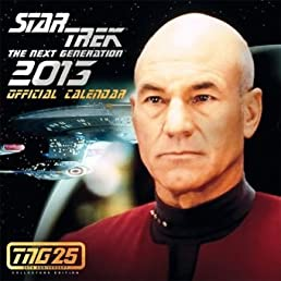 Star Trek: the Next Generation Official 2013 Calendar: Tng 25th Anniversary Edition