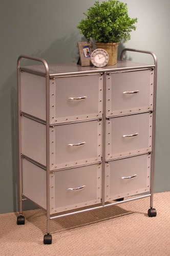 6-Drawer Chest with Steel Frame