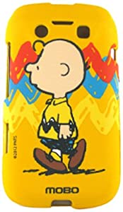 MOBO ECDBB9790SNC07 Licensed Snoopy Peanuts Case Charlie Brown for BlackBerry 9790 Bold - Retail Packaging - Crystal
