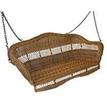 Sahara 4-ft. Resin Wicker Porch Swing