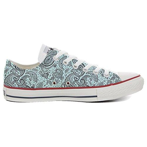 Converse All Star Hi chaussures coutume (produit artisanal) Elegant Paisley