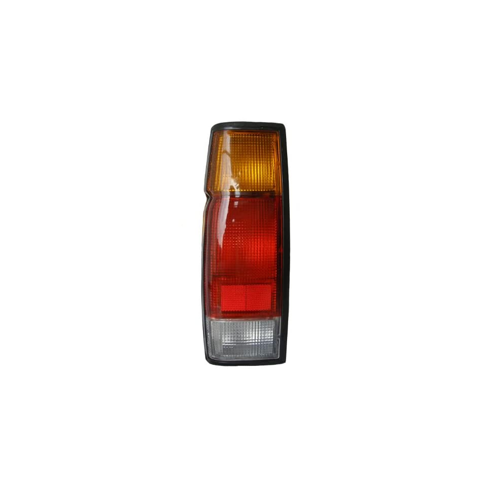 Nissan Pickup Driver Side Replacement Tail Light Assembly Lens Housing D21 Truck Lamp (Left)