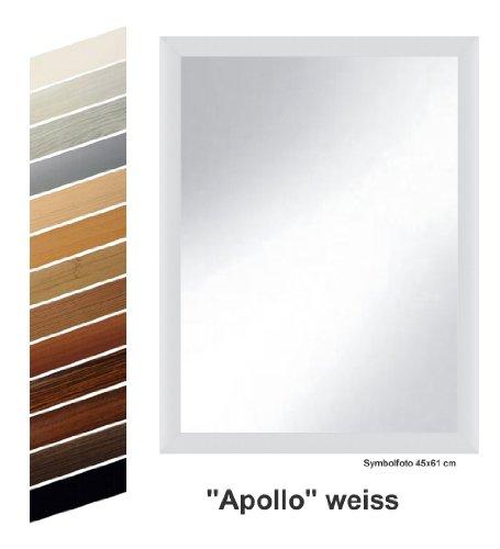 Rahmen-nach-Ma-S10024561K-Spiegel-Apollo-wei-dekor-komplett-mit-Echtglas-45-x-61-cm
