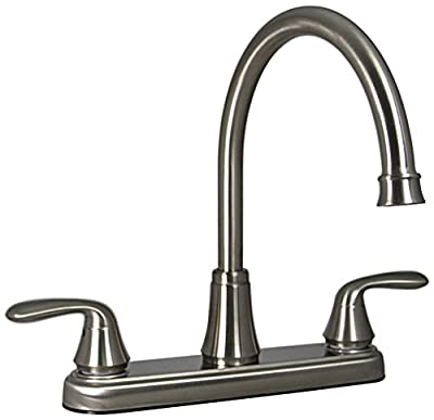 Phoenix RB5662-I Brushed Nickel Two Handle Hi Arc Kitchen Faucet