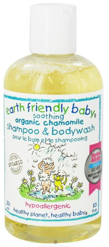 Earth Friendly Baby Soothing Chamomile Organic Shampoo/ Bodywash