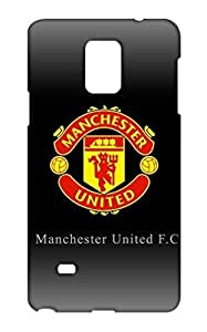 Samsung Galaxy Note 4 Manchester United Football Club Design Back Cover - Printed Designer Cover - Hard Case - SGN4CMBMUFC0160