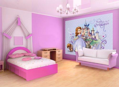 Kinderzimmer Tapeten Prinzessin : Fototapete Fototapeten Tapete Tapeten DISNEY PRINZESSIN SOFIA 593 P4