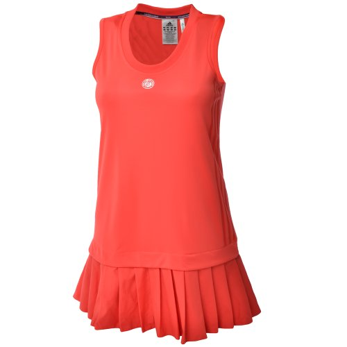 Adidas Roland Garros adiAce Womens Red Tennis Dress - V37979