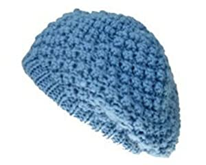 Pugs Gear Angelica Hat - Baby Blue Beret