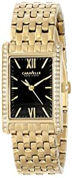 Caravelle New York Women's 44L119 Analog Display Japanese Quartz Yellow Watch
