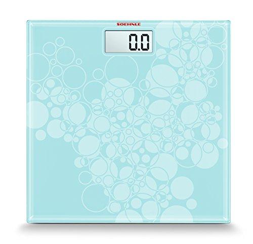 Soehnle Pino Pastel - Bilancia pesa-persone, colore blu