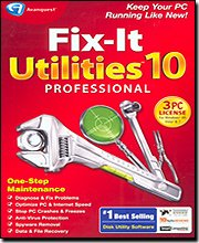 Brand New Avanquest Fix-It Utilities 10 Professional For Up To 3 Users With Just One Click