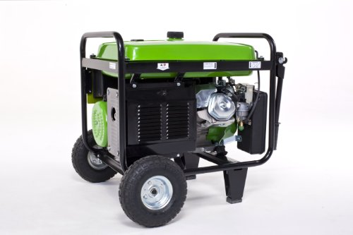 Lifan Energy Storm ES8000E-CA 8000 Watt Lifan 15 HP 420cc 4-Stroke OHV Gas Powerd Portable Generator with Electric Start and Wheel Kit with Never-Flat Foam Filled Tires (CARB Certified)
