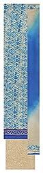 Mahalaxmi Lady Culture Women's Cotton Unstitched Dress Material (Blue and Beige)