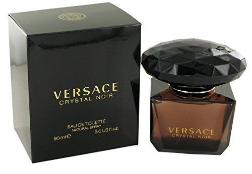 Versace Crystal Noir by Versace for Women - 3 Ounce EDT Spray (Versace Perfume Crystal Noir compare prices)