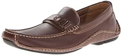 Madden By Steve Madden Hank Men's Slip On Driving Shoes Brown Size 7