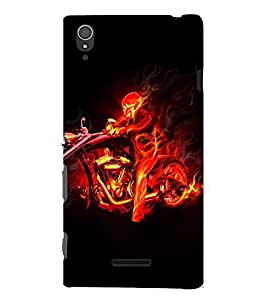 EPICCASE Ghost Rider Mobile Back Case Cover For Sony Xperia T3 (Designer Case)