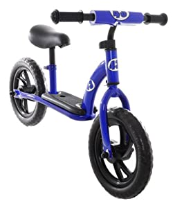 Childrens Balance Bike Running Push Bicycle for Girls or Boys Blue