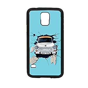Vibhar printed case back cover for Samsung Galaxy S5 CarJump