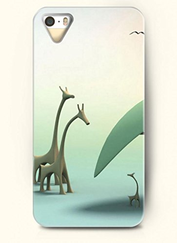 Oofit Phone Case Design With Giraffe For Apple Iphone 4 4S 4G