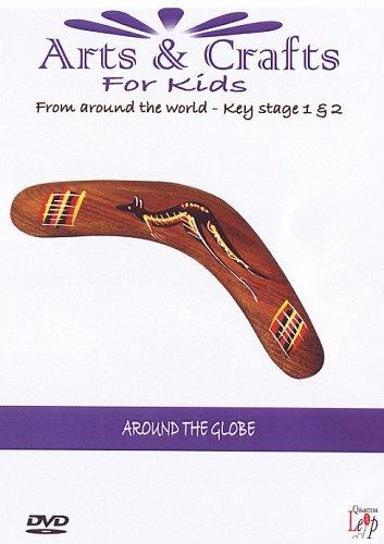 Arts And Crafts For Kids - Key Stage 1&2 - Around The Globe [Edizione: Regno Unito]