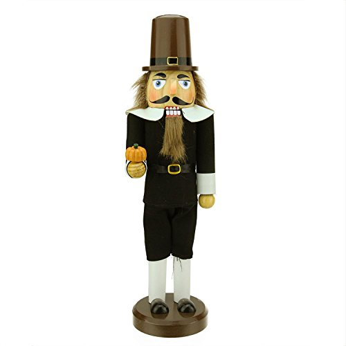 Pilgrim Man Thanksgiving Nutcracker