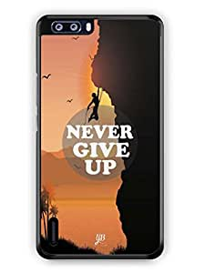 YuBingo Never Give Up Mobile Case Back Cover for Huawei Honor 6 Plus
