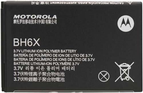 Motorola BH6X battery