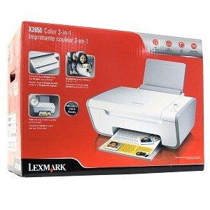 logiciel lexmark x2650 gratuit