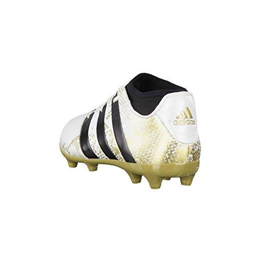 adidas Herren Ace 16.3 Primemesh FG/AG Fußballschuhe, Blanco (Ftwbla / Dormet / Negbas), 48 2/3 EU -
